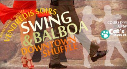Downtown Shuffle: Swing and Balboa Dance