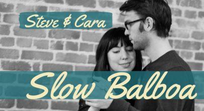 Atelier intensif de Slow Balboa