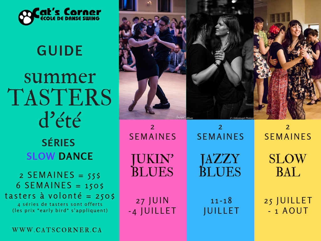 Montreal Swing Dance School | Cat's Corner